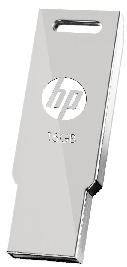 HP USB2.0 STAINLESS STEEL THUMB DRIVE V232W 16GB
