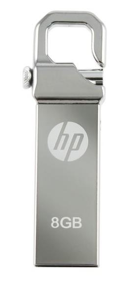 HP USB2.0 STAINLESS STEEL THUMB DRIVE V250W 8GB