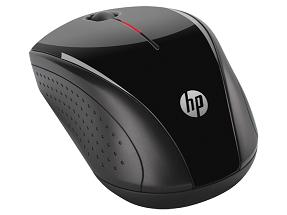 HP X3000 WIRELESS MOUSE (H2C22AA) BLK