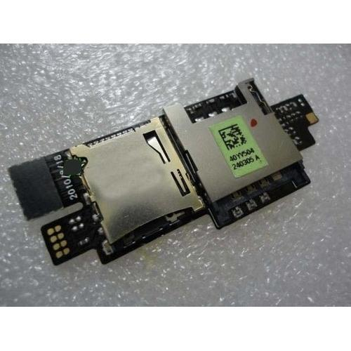 HTC Desire HD A9191 Sim Sd Memory Card Slot Reading Holder Ribbon Flex