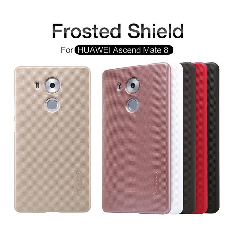 Huawei Ascend Mate 8 Nillkin Super Frosted Shield Cover Sand Case