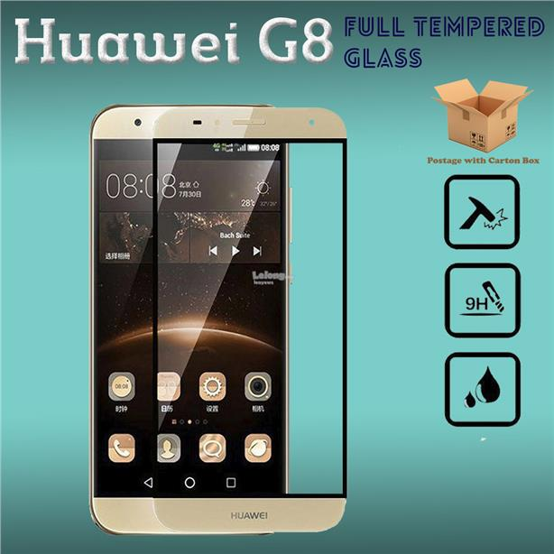 Huawei G8 Full Cover Tempered Glass Screen Protector