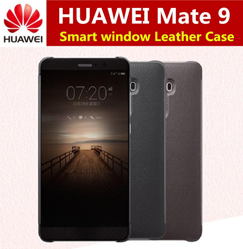 HUAWEI Mate 9  Luxury Smart window Flip Leather Case