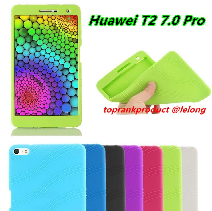 Huawei Mediapad T2 7.0 Pro TPU Silicone Soft Back Case Cover Casing