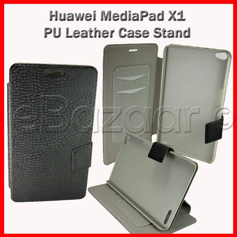 Huawei MediaPad X1 PU Leather Case Stand