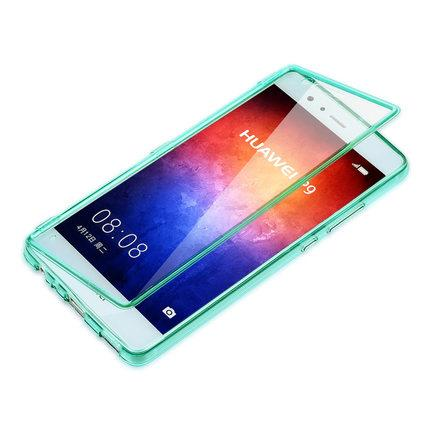 Huawei P9/P9 Plus Silicone Transparent flipcase drop-proof cover
