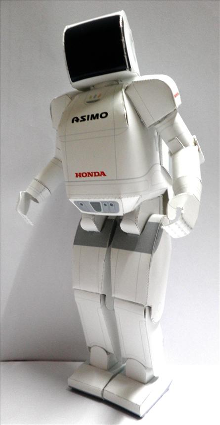 HUMANOID ROBOT (PAPER MODEL) [By WallE Grocery]
