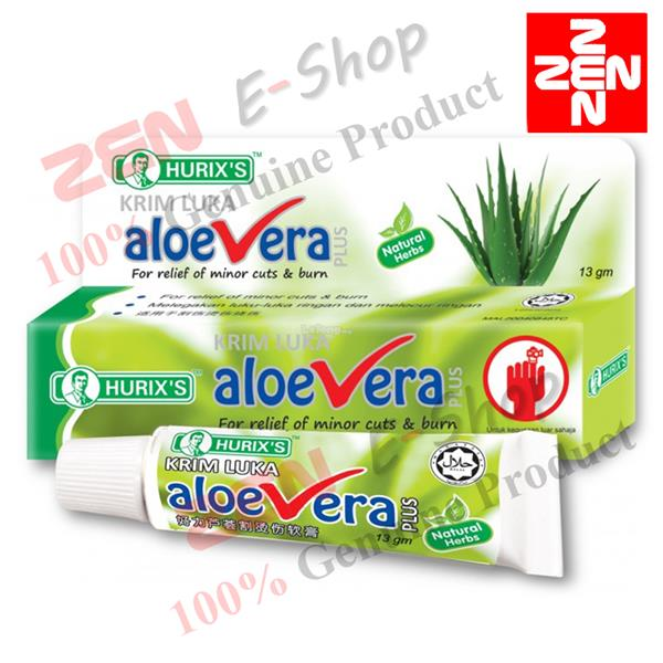 HURIX'S Aloe Vera Plus Antiseptic Cream 13g