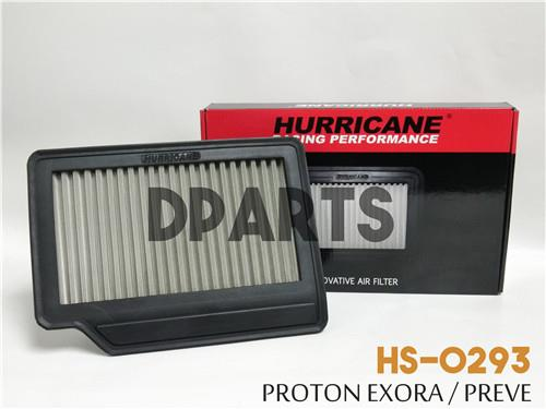 HURRICANE Stainless Steel Air Filter for PROTON PREVE / EXORA