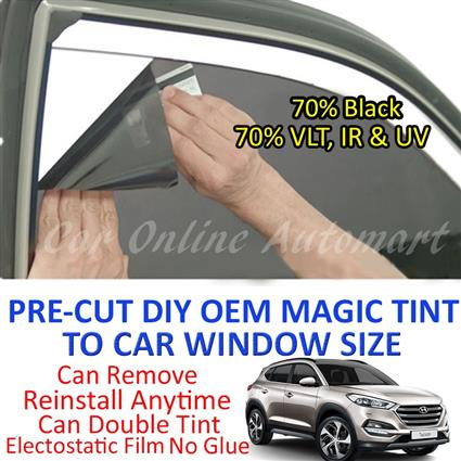 Hyundai Tucson Magic Tinted Solar Window ( 4 Windows & Rear Window ) 7