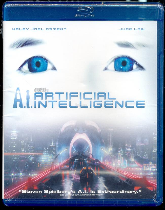 A.I. Artificial Intelligence - New Blu-Ray