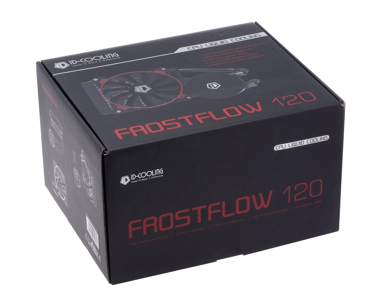 ID COOLING FROSTFLOW 120 CPU WATER COOLER NON LED 2 YEAR WARRANTY