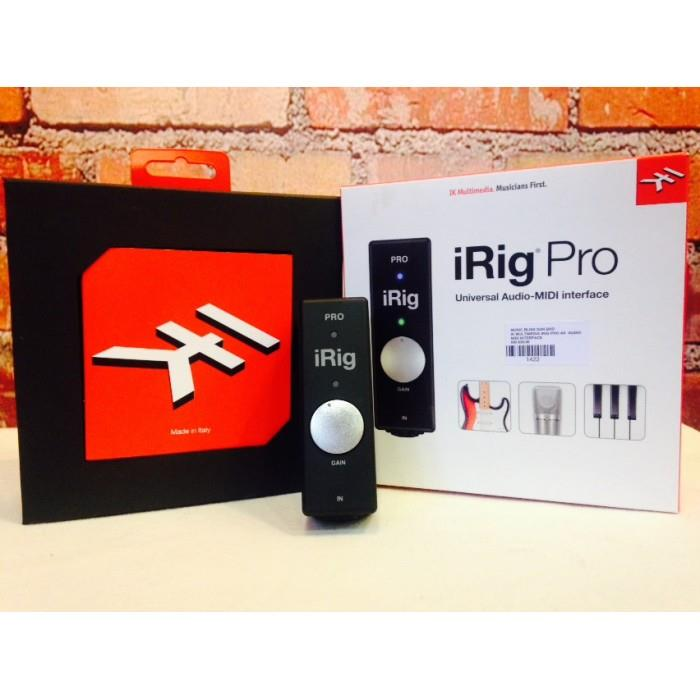 IK Multimedia iRig Pro Universal Audio-Midi Interface