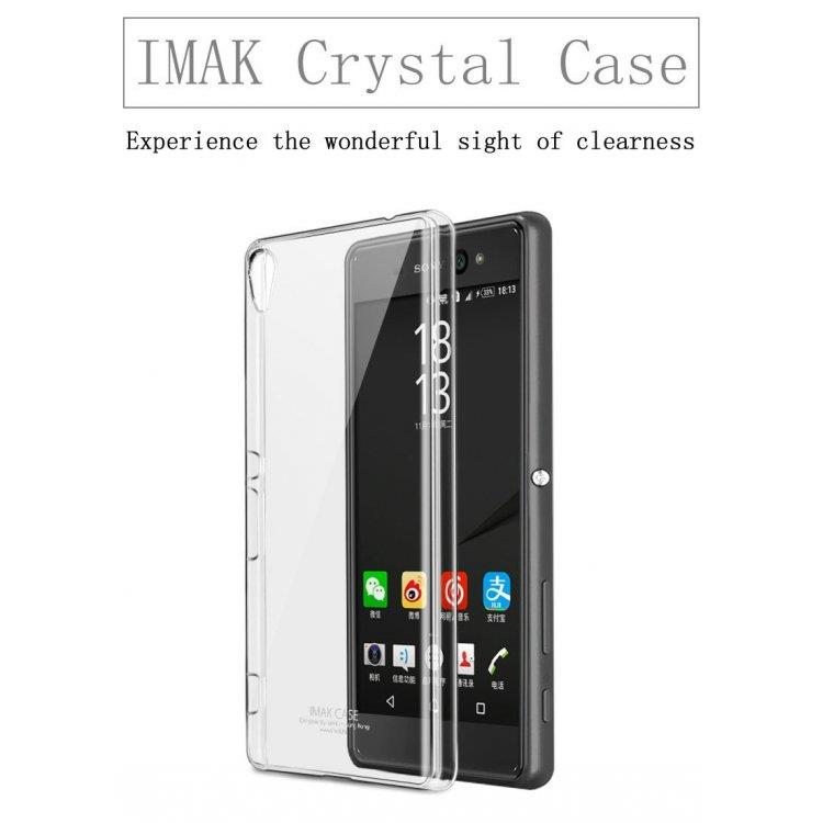 IMAK Air Crystal Case Transparent Back Cover for Sony Xperia XA Ultra