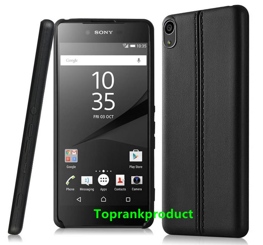 imak Sony Xperia XA Silicone Rubber TPU Case Cover Casing + Free Gift