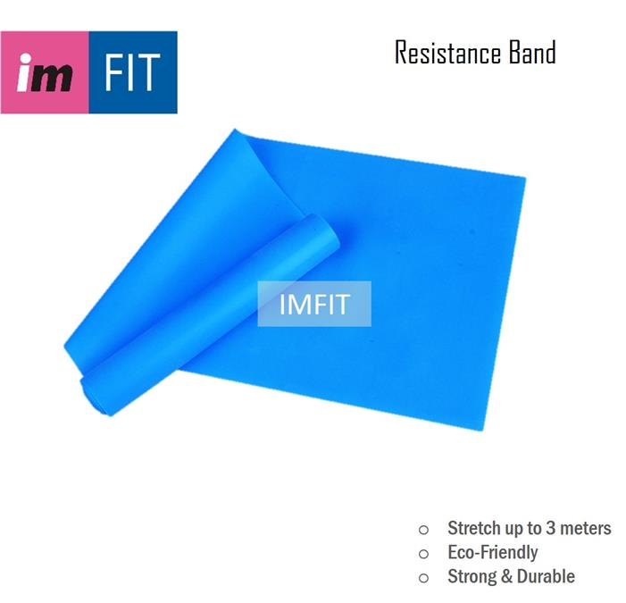 Imfit Yoga Latex Resistance Band 1.8m - Eco-Friendly Durable