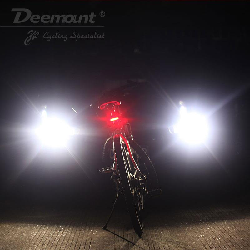 (Import) Deemount Rechargeable COB LED USB Mountain Bike Tail Light