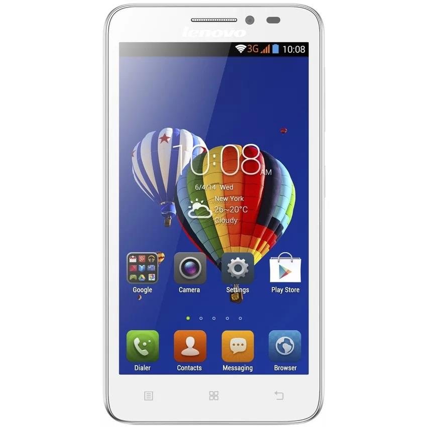 (IMPORT)-Lenovo A606 4G 4GB (White)