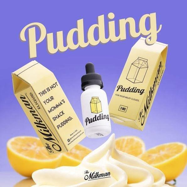 Import US Premium E Juice!!Pudding by The Mikman E-Liquip