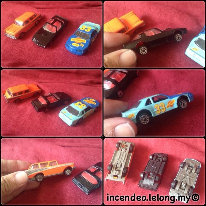 **incendeo** - 3 Diecast Car Set for Kids