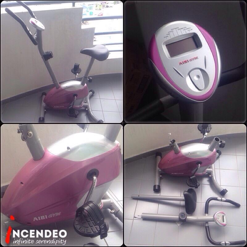 **incendeo** - AIBI Gym Magnetic Cycle Fitness Exercise Bike