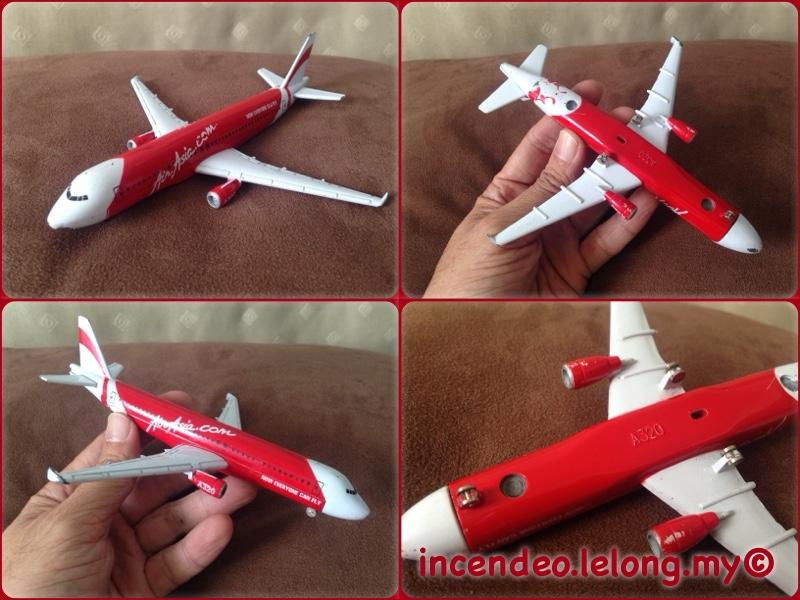**incendeo** - Air Asia A320 Airbus Plane Model