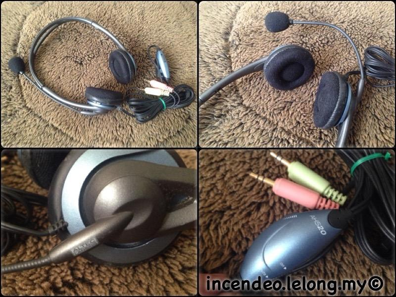 **incendeo** - ALTEC LANSING Stereo Headset AHS20