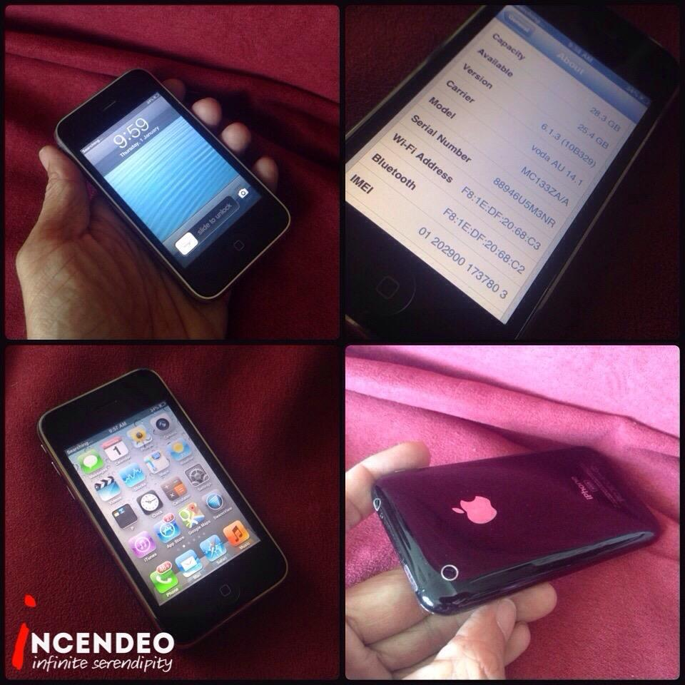**incendeo** - APPLE iPhone 3GS 32GB Black