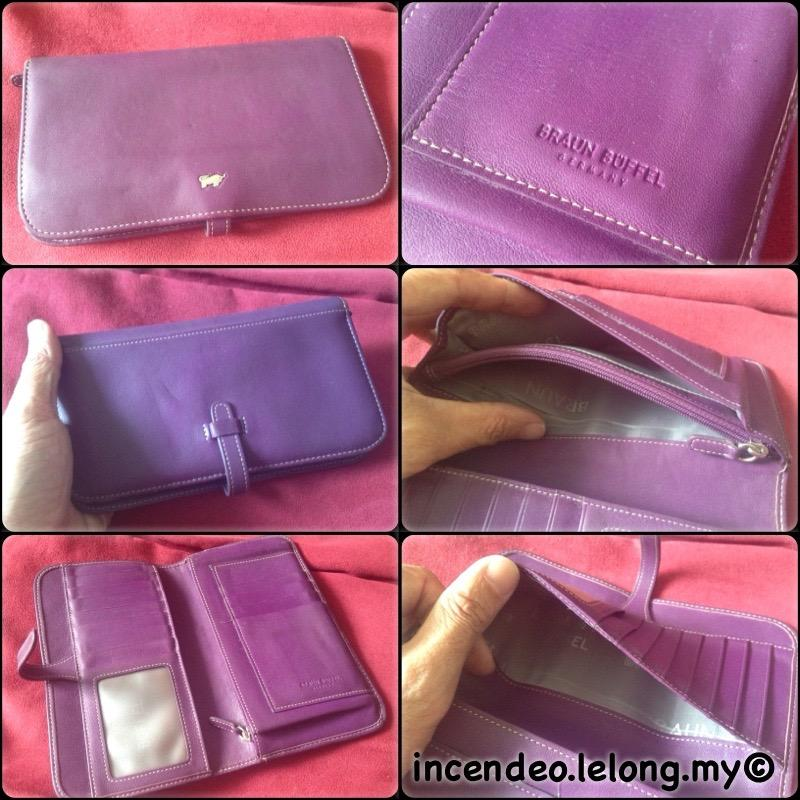 **incendeo** - Authentic BRAUN BUFFEL Germany Genuine Leather Wallet