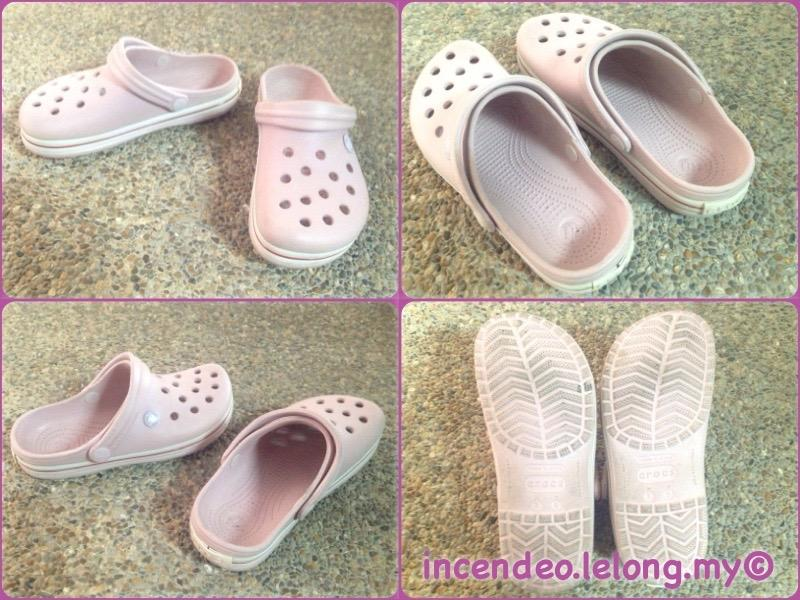 **incendeo** - Authentic CROCS Pink Sandal for Ladies