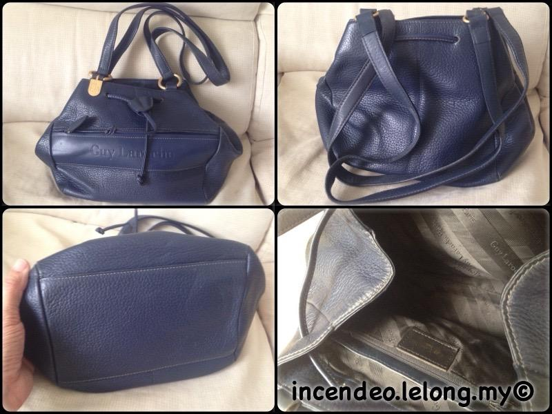 **incendeo** - Authentic GUY LAROCHE Genuine Leather Handbag
