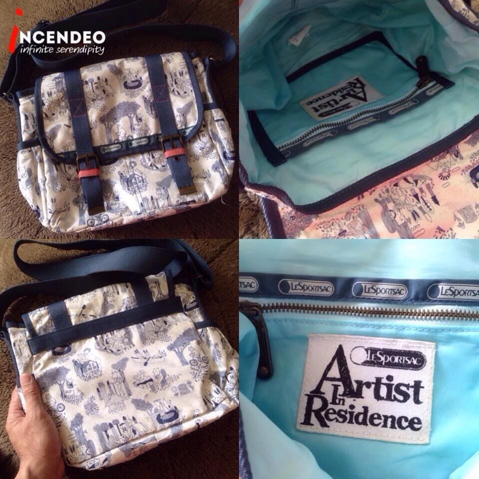 **incendeo** - Authentic LeSportsac Artist In Residence Bag