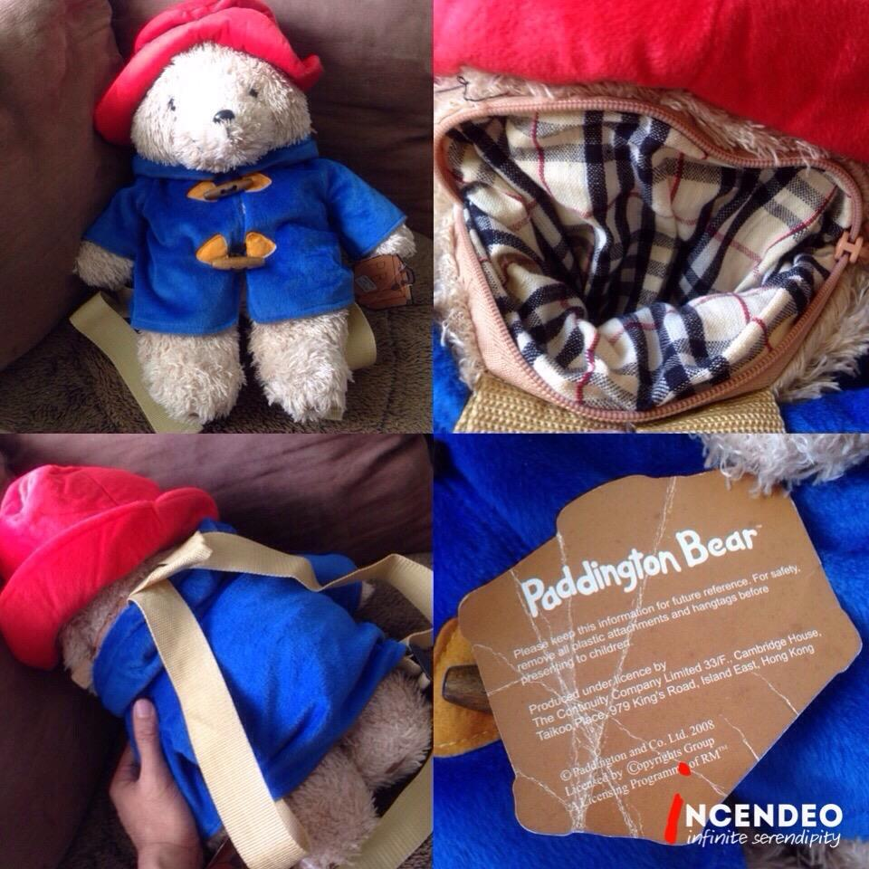 **incendeo** - Authentic Paddington Bear Backpack