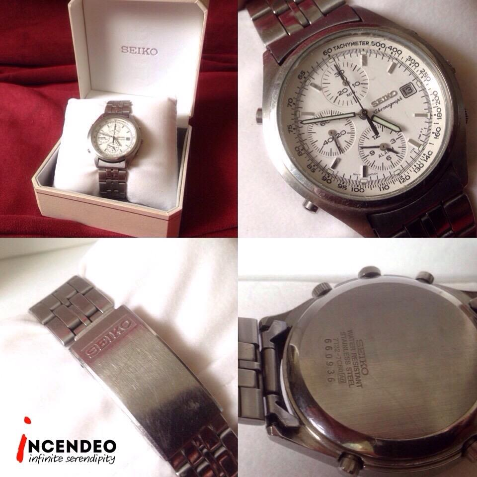 **incendeo** - Authentic SEIKO Chronograph Alarm Quartz Watch