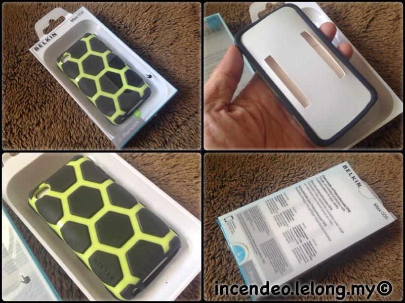 **incendeo** - BELKIN iPod Touch 4th Gen Case