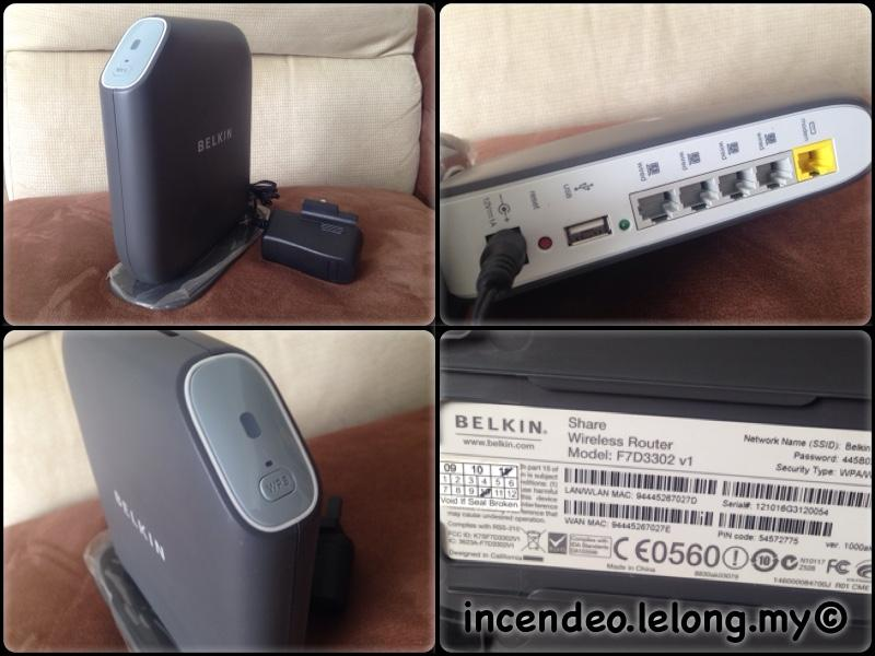 **incendeo** - BELKIN Share Wireless Router F7D3302v1