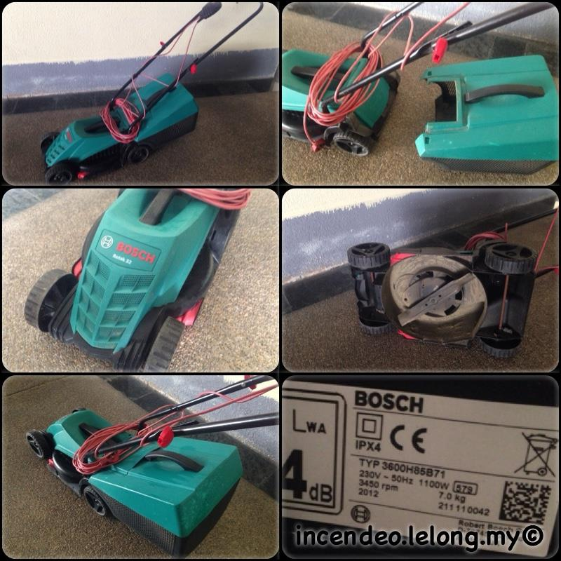 **incendeo** - BOSCH Rotak 32 Lawn Mover