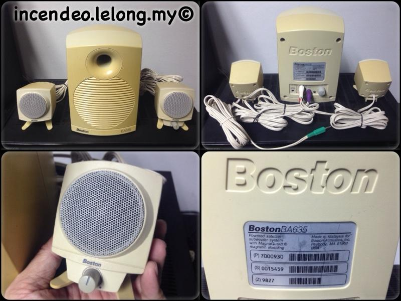 **incendeo** - BOSTON USA Powered Satelite-Subwoofer System BA635 #1