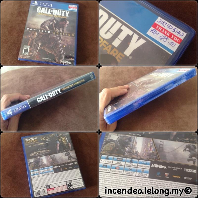 **incendeo** - Call of Duty Advanced Warfare Game for SONY PS4