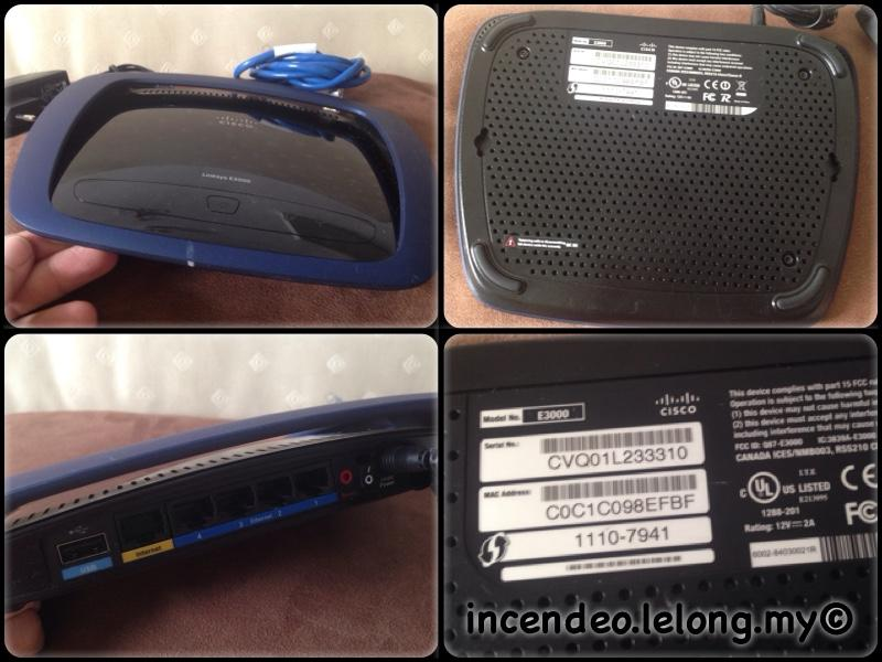 **incendeo** - CISCO Linksys High Performance Wireless-N Router E3000