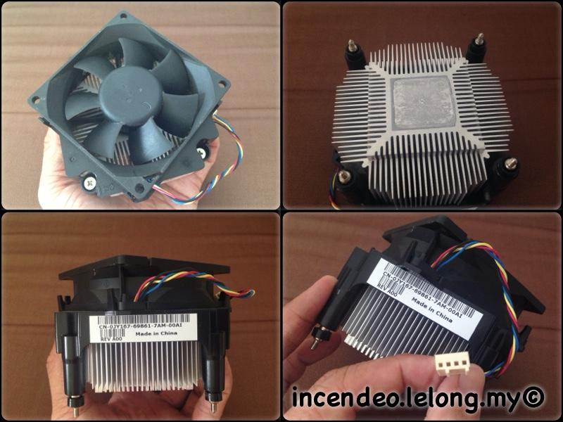 **incendeo** - DELL Optiplex Fan Heatsink