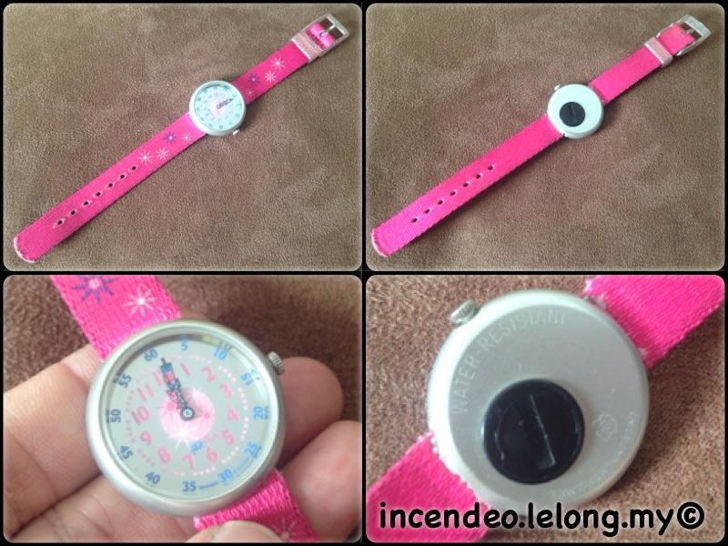 **incendeo** - flik flak Pink and Silver Watch for Girls