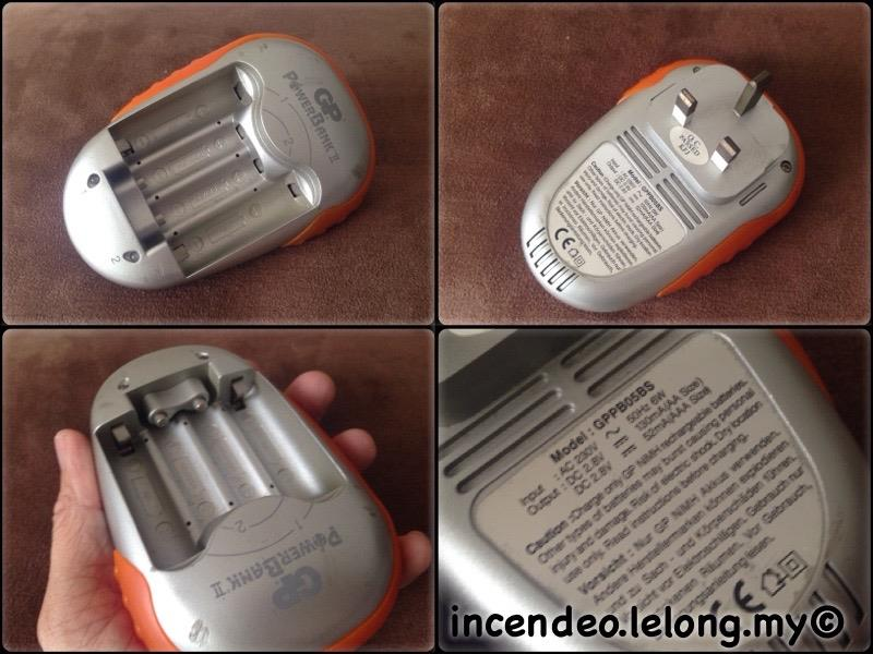 **incendeo** - GP PowerBank II NiMH AA/AAA Battery Charger