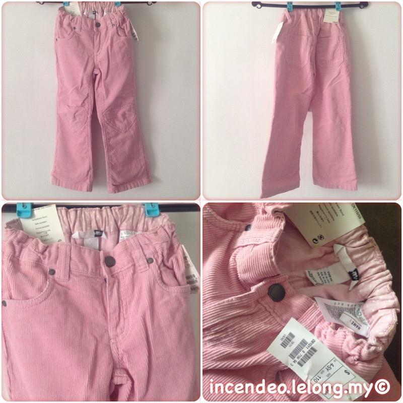 **incendeo** - H&M Pink Long Pants for Girls