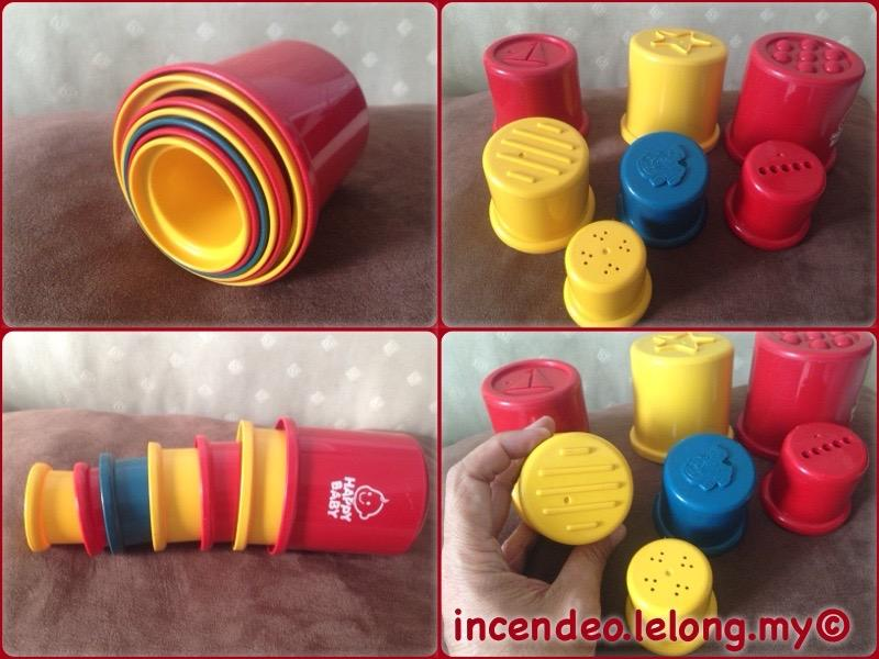 **incendeo** - HAPPY BABY Stacking Activity Cups for Toddlers