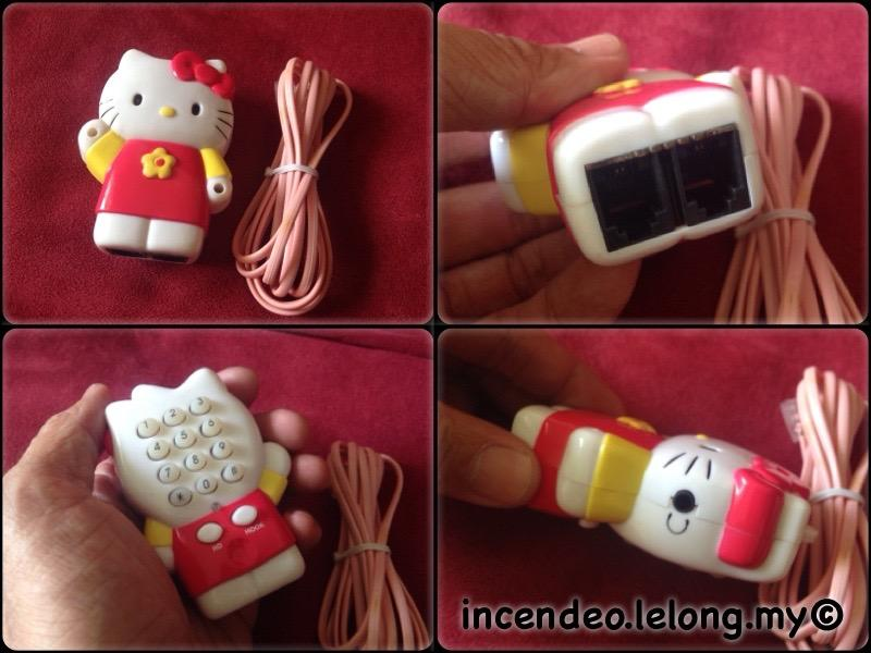 **incendeo** - HELLO KITTY Mini Handheld Telephone