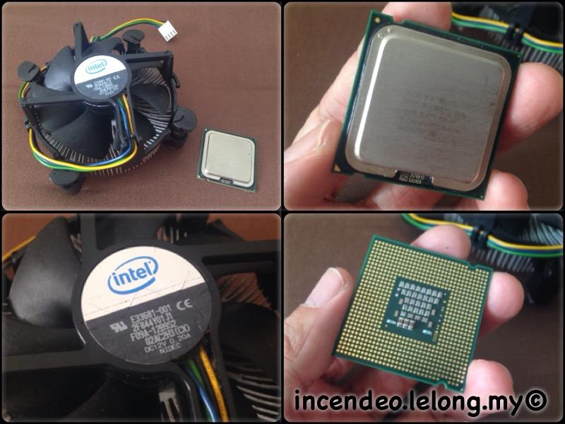 **incendeo** - INTEL Core 2 Duo 2.13Ghz Processor with Fan Heatsink