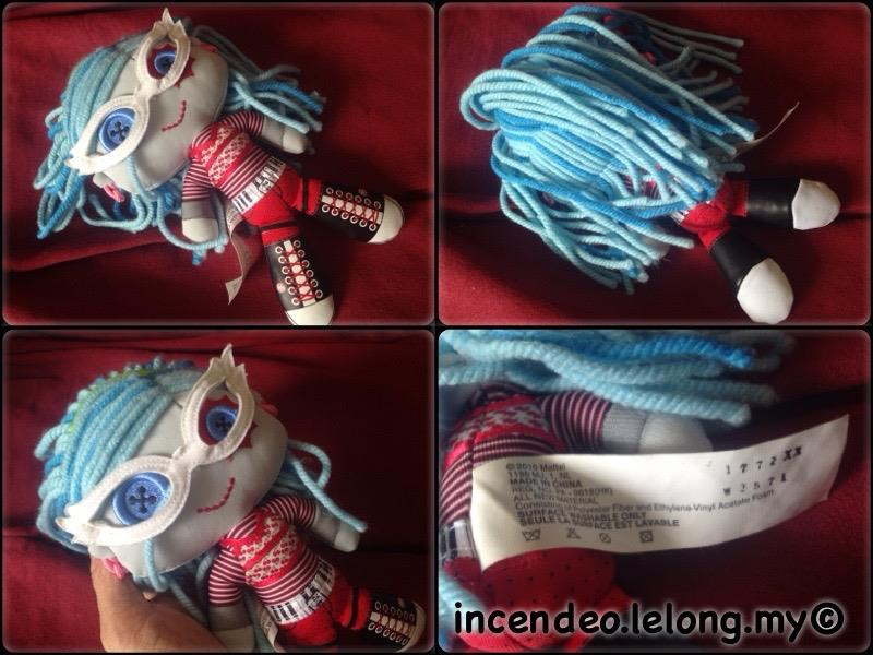 **incendeo** - MATTEL Monster High Friends Plush Ghoulia Yelps Doll