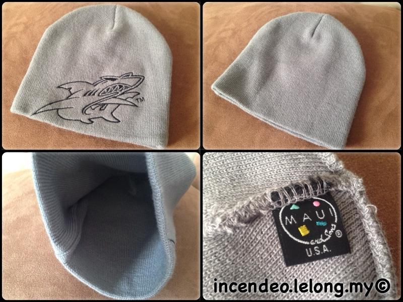 **incendeo** - MAUI and Sons USA Grey Rib-knit Hat