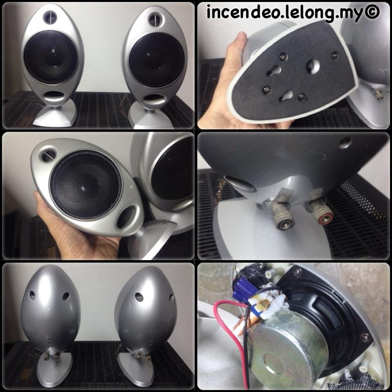 **incendeo** - Mini Oval Shape 2-ways Speakers